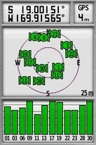 #3: My GPS receiver - as close as I could get to the point