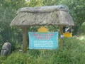 #8: Entrance to holiday accommodation near confluence