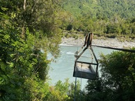 #10: The cableway that took me across the Hokitika River (and back)