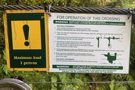 #11: Instructions for the cableway