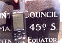 #5: At the plaque. (GPS is out of focus)
