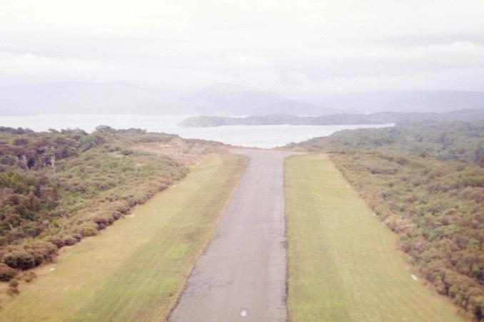 Lift off from Fern Gully Airstrip