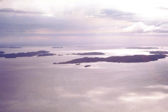 Islands in Paterson Inlet including Block Island