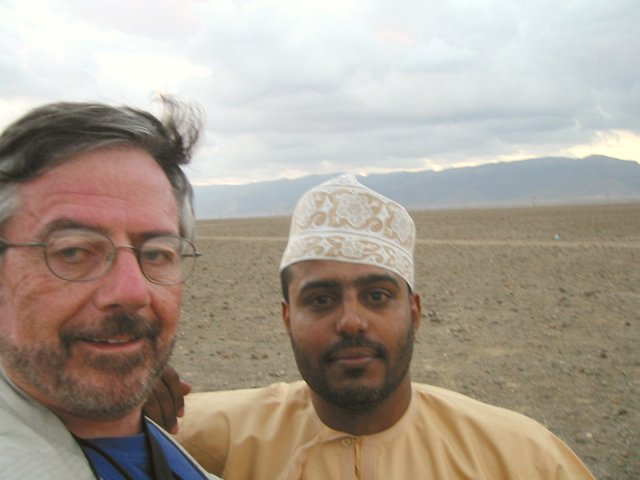 Steve and Khālid at the Confluence