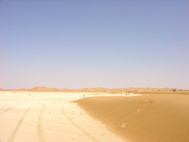General View. The point is on the right just before the start of the sand