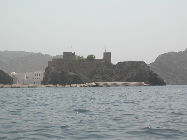 Old fort near Masqat harbor