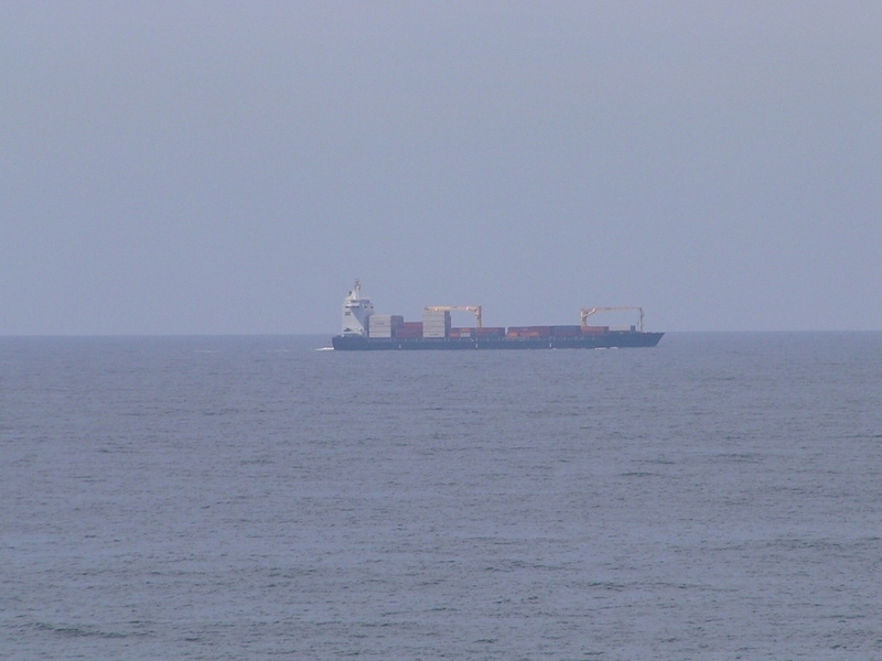 Dutch freighter CCNI BALTIC, bound from Chile to Paita