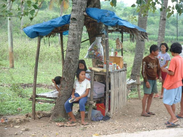 A local shop at start point.  This is a common alternative way of earning a living in rural Philippines