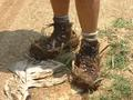 #8: My boots with new 2 inch mud soles