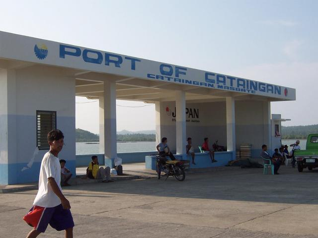 Arriving Port of Cataingan at 4 PM