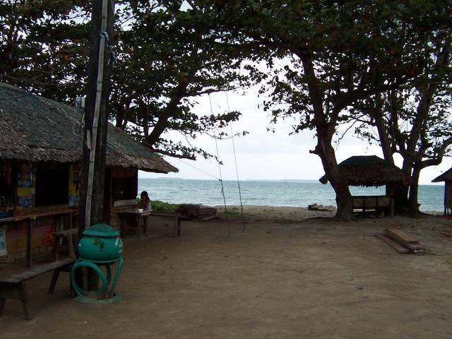 Beach at Barangay Mangcamagong