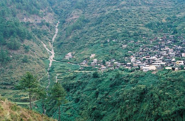 View of Bayyo from across the valley.