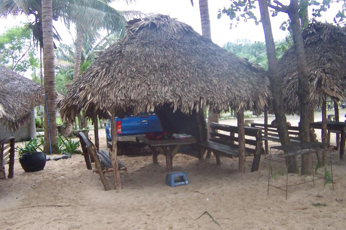 Cottage in Pagudpud Beach where we slept the night of December 27th