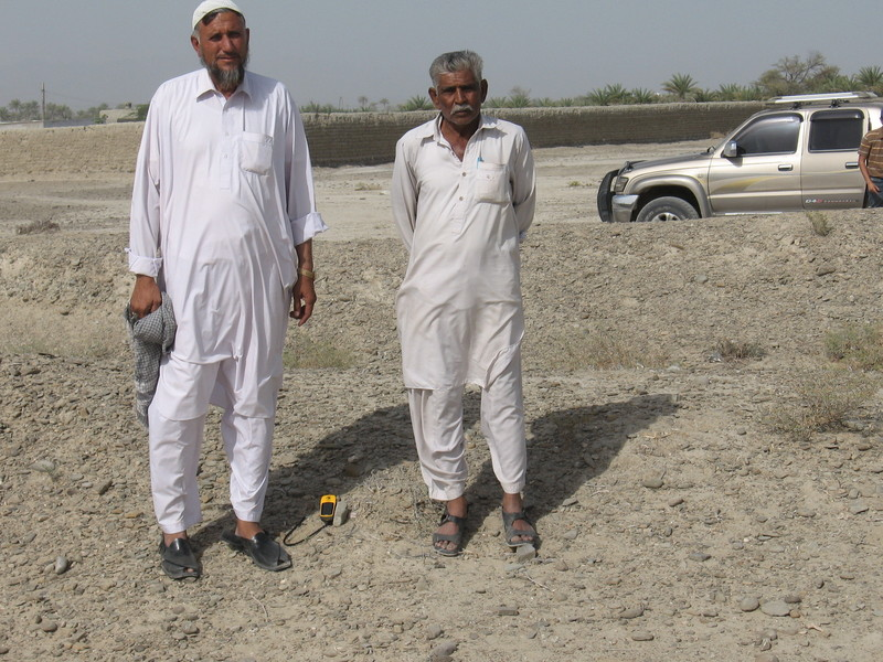 Driver- Soohbat Khan (L) and Native Language Speaker Mohammad Siddique