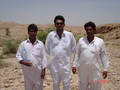 #7: Ayoob,Afaq and Doctor at confluence point