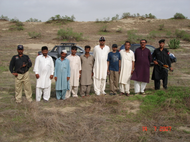 Group at Confluence point pic was taken by Ahmed