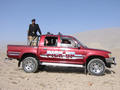 #4: Our 4WD, complete with Pakistani Police guard