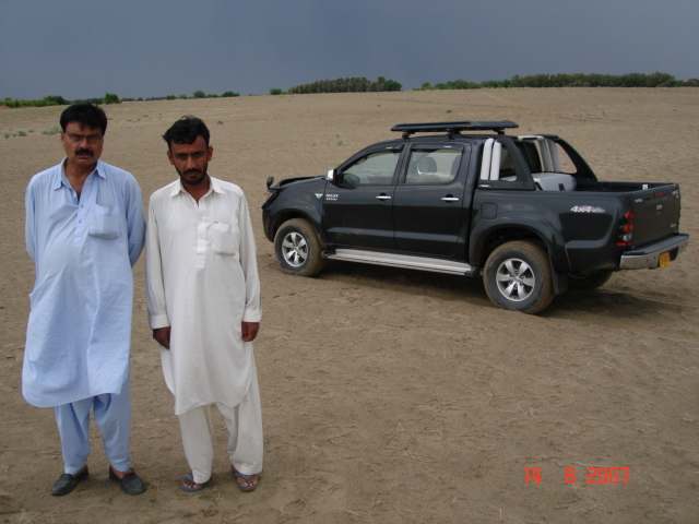 Anwar and local guide at confluence