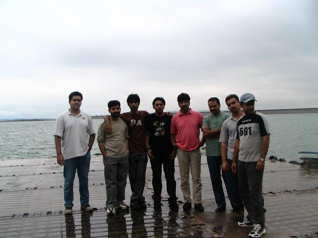 Group at Mangla Lake