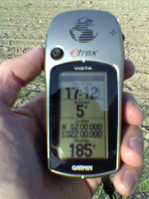 GPS readings