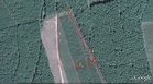 #7: My track on the satellite image (© Google Earth 2010)