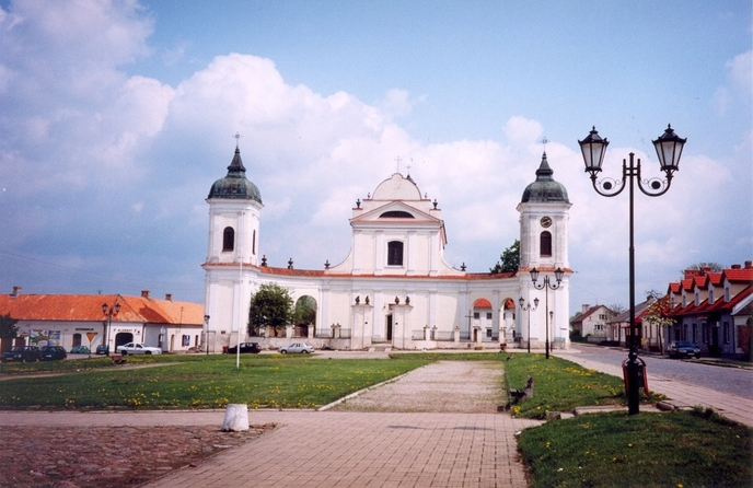 Tykocin - baroque church of the Holy Trinity (1742-1749)