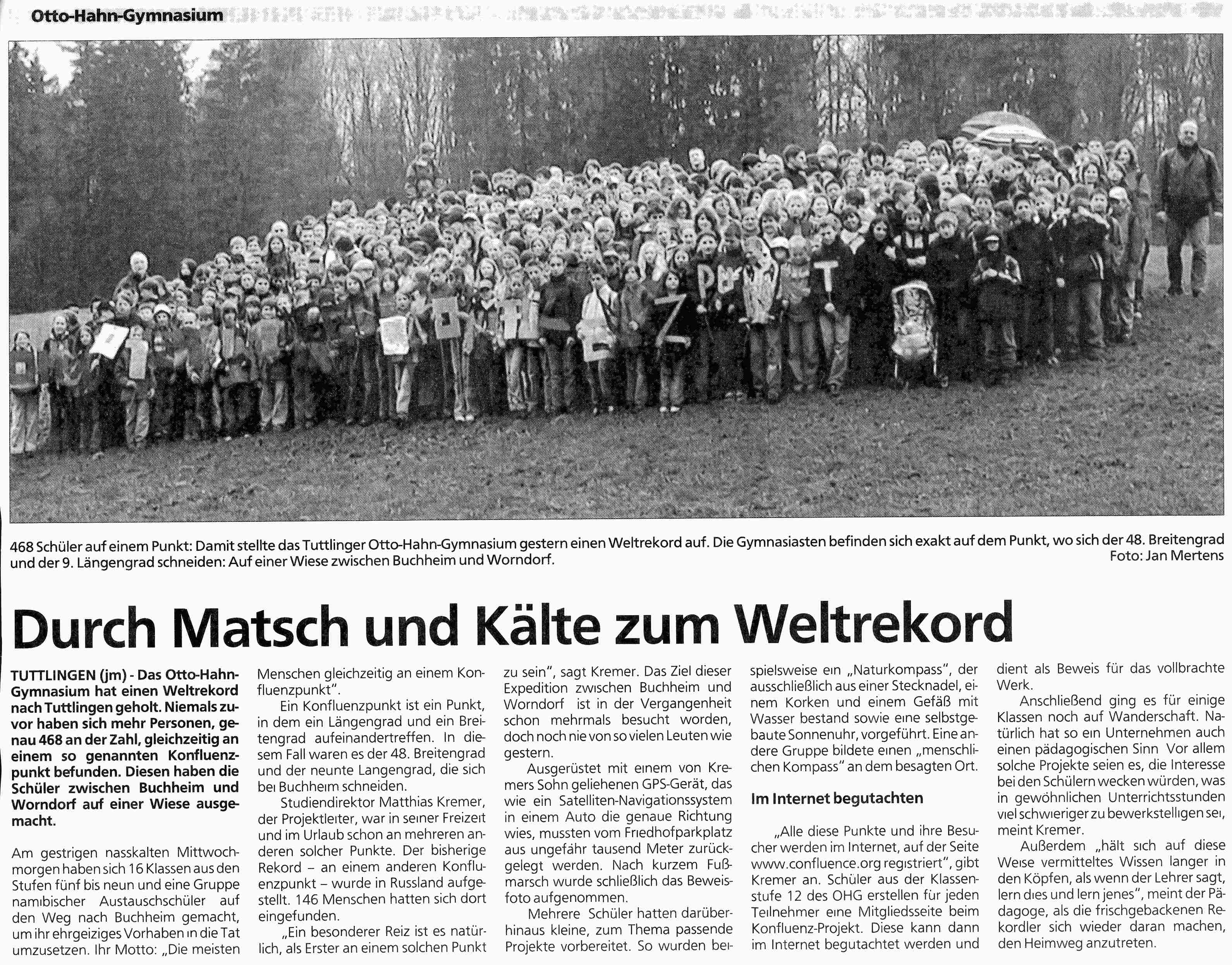 Gr�nzbote Tuttlingen article