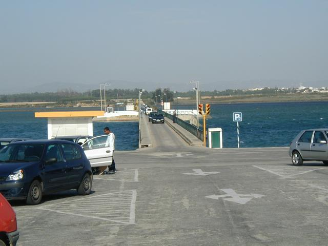 The one line bridge over the bay
