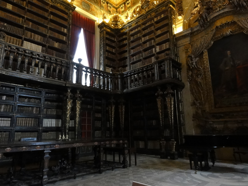 Coimbra university historic library