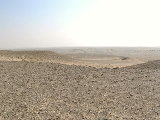 View south from Qatar's highest point