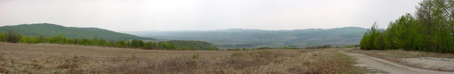 Panorama east-south-west/Panorama est-sud-vest
