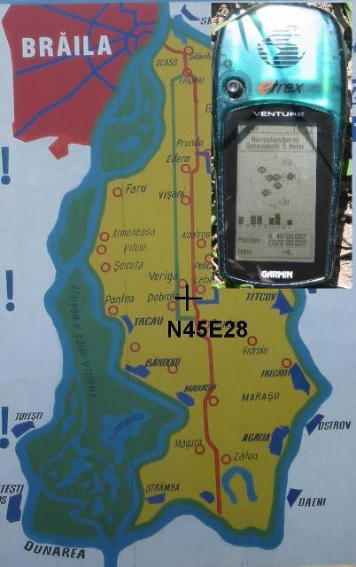 GPS + Local Map