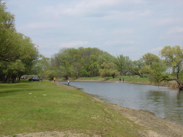 Nearby river, a popular fishing spot