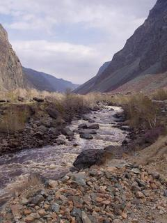 #1: Valley of the river Chulyshman.