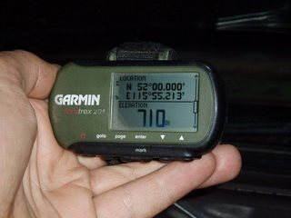 #1: View of the GPS (latitude)