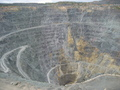 #9: Sibay town. Copper ore mine