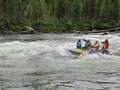 #10: Rafting on Kizhi-Khem river