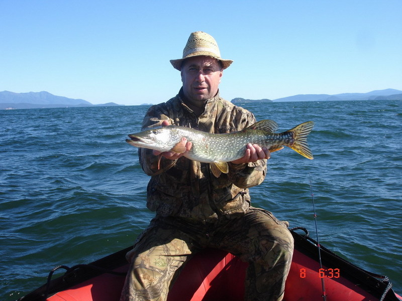 Fishing was the basic purpose of that trip to lake Baikal