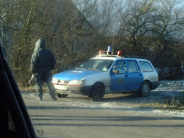 The police stop you for speeding in Russia...