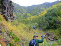 #10: 1 km from the confluence point: the canyons caldera