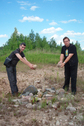 #4: Anar Polunov and Anatoly Terentiev constructed a stone pyramid near DCP