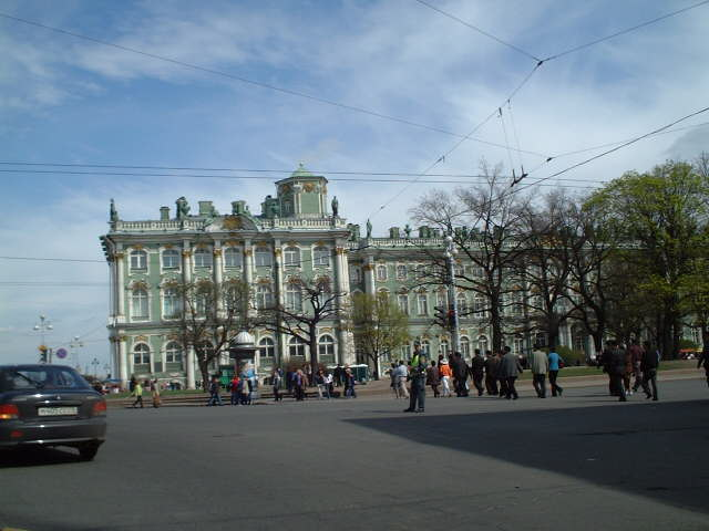 The Ermitage, Saint Petersburg's world famous museum of arts
