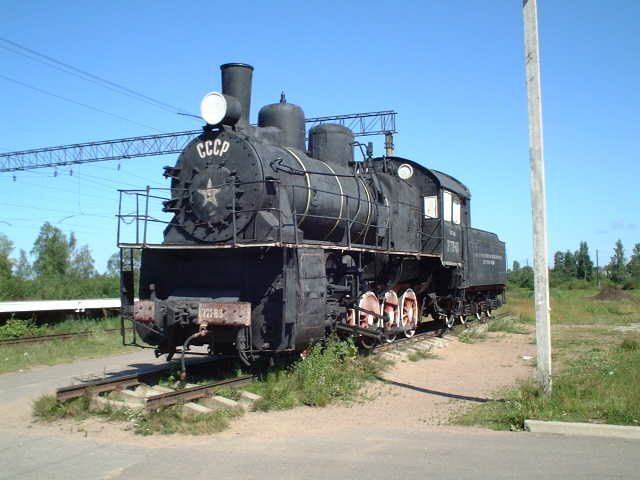 The 3M 721-83 at Petrokrepost' station