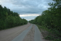 #5: The road in 4 km from the point