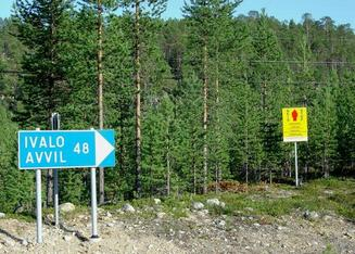 #1: Border Zone 48 km north-east from Ivalo