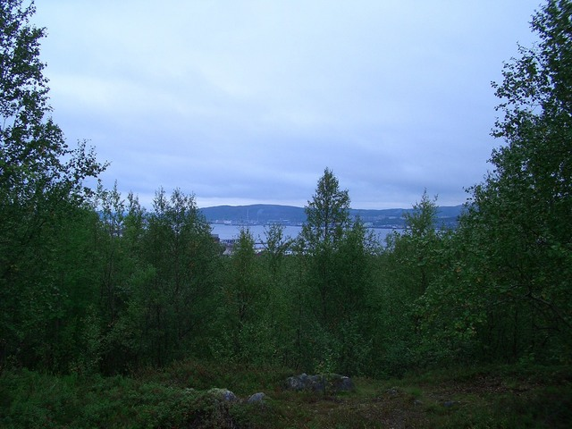 View towards Murmansk