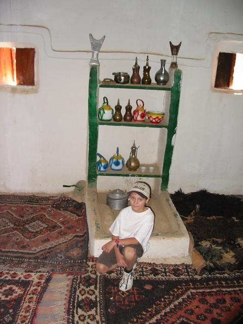 A traditional Arabic kitchen