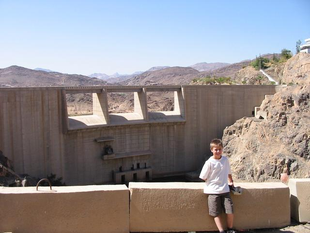 The empty Najrān dam