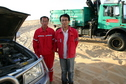 #7: Mr. Wang and his colleague from Sinopec Fly Camp 10