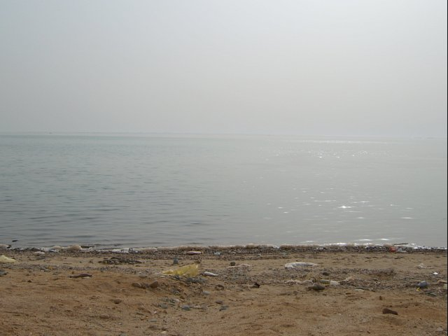 The west view to the Red Sea
